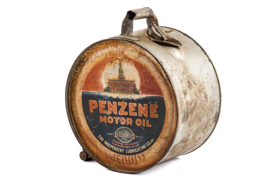 Penzene Motor Oil 5 Gallon Rocker Can - 5