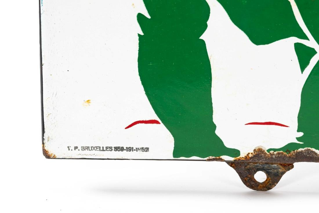 Sinclair Oils Horizontal Porcelain Sign - 4