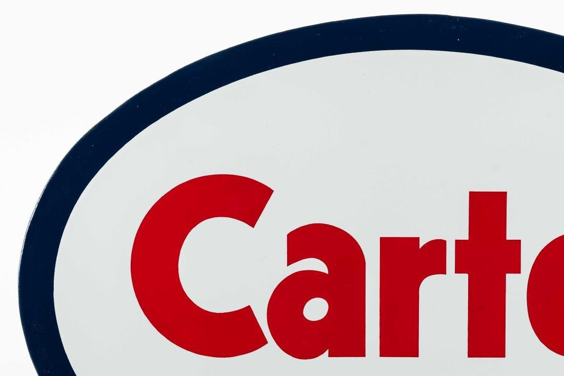 Carter Porcelain Truck Sign - 2