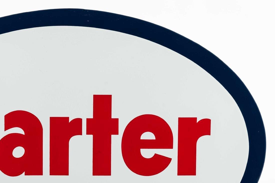 Carter Porcelain Truck Sign - 3