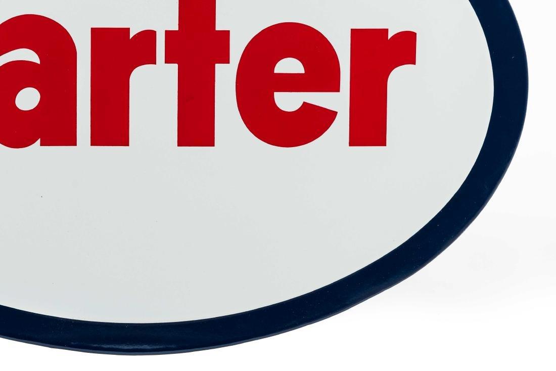 Carter Porcelain Truck Sign - 4