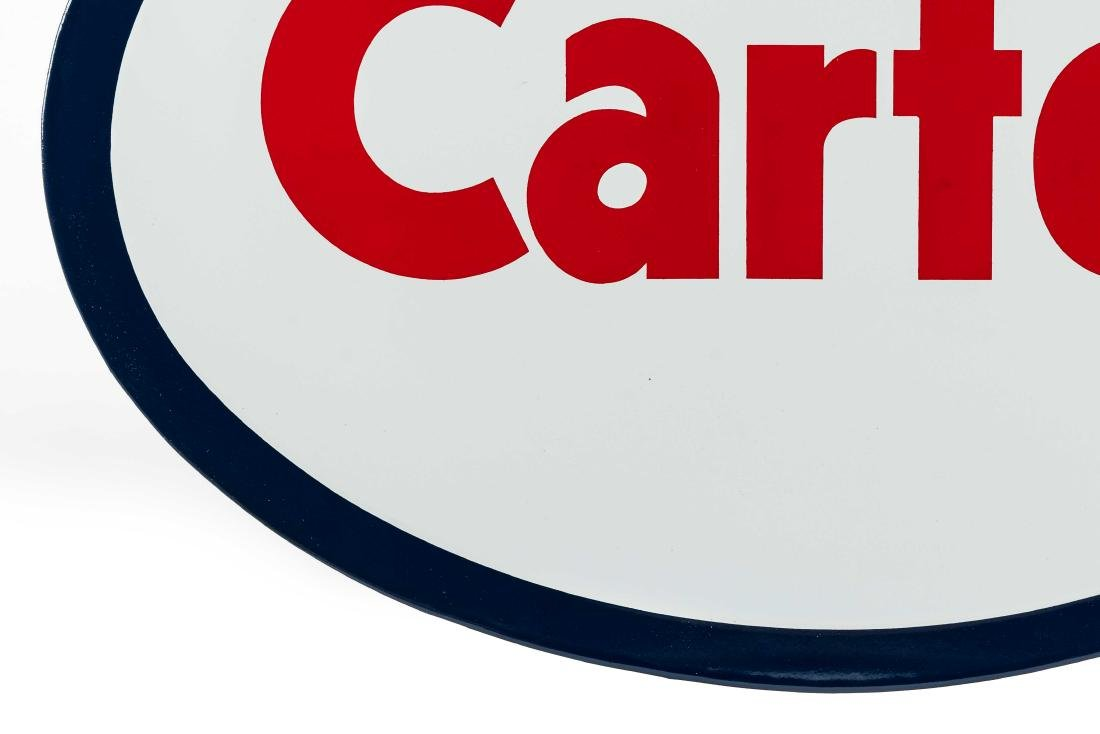 Carter Porcelain Truck Sign - 5