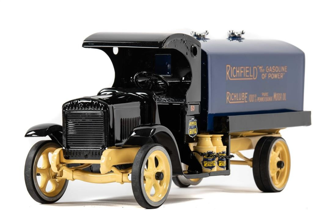 Richfield Pressed Steel Tanker Truck