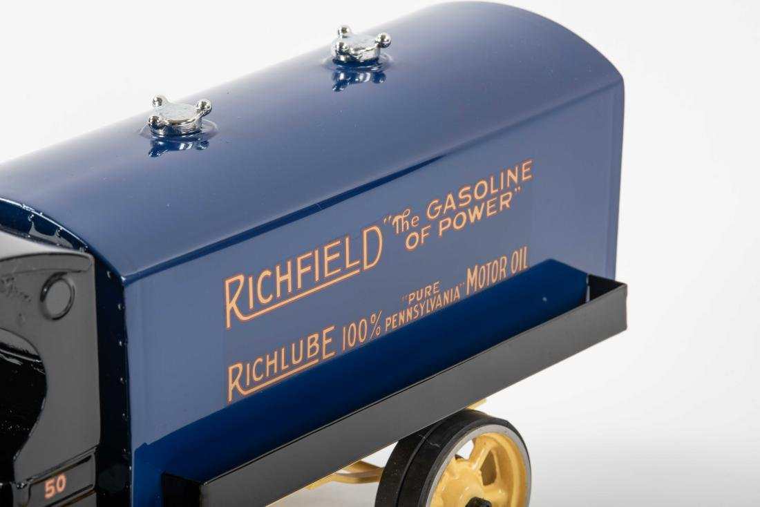 Richfield Pressed Steel Tanker Truck - 3