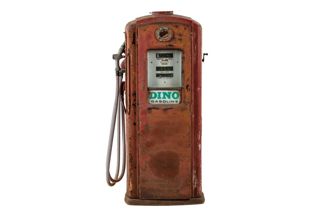 Unrestored Bennett 756 Gas Pump