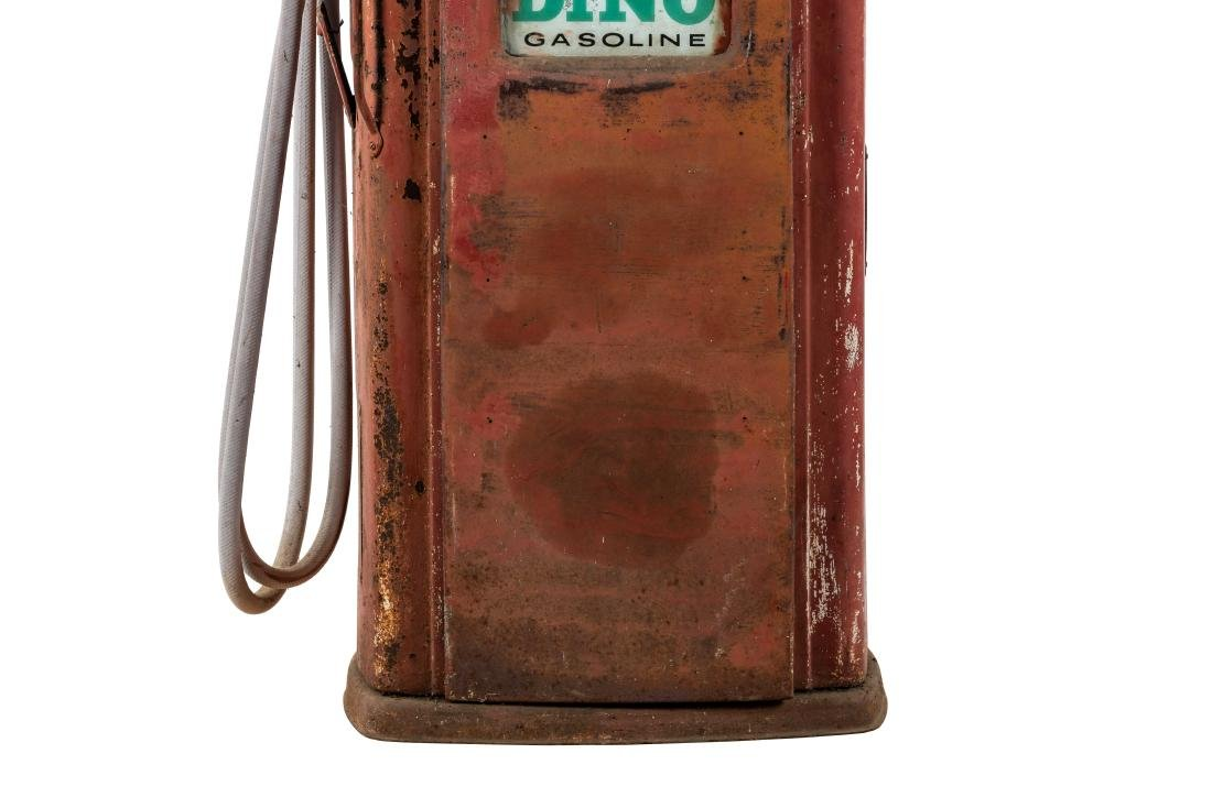Unrestored Bennett 756 Gas Pump - 3