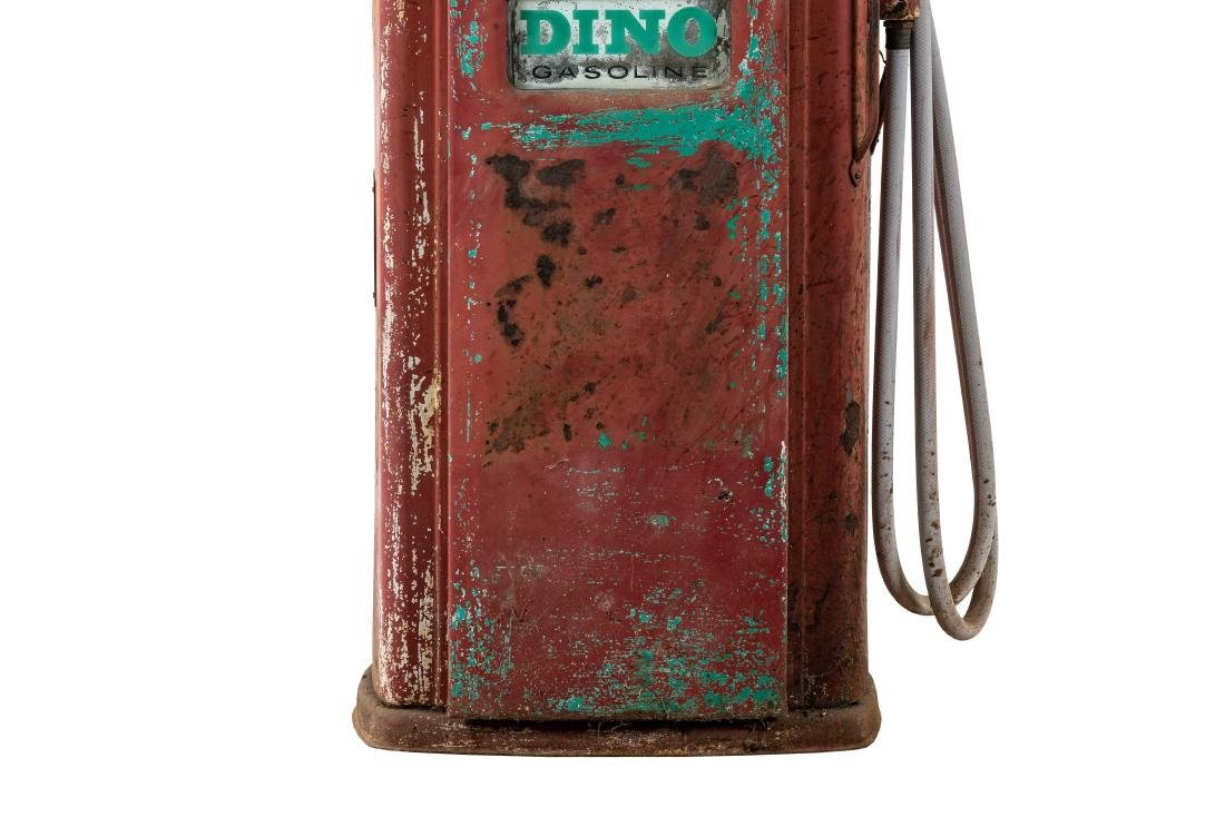 Unrestored Bennett 756 Gas Pump - 6