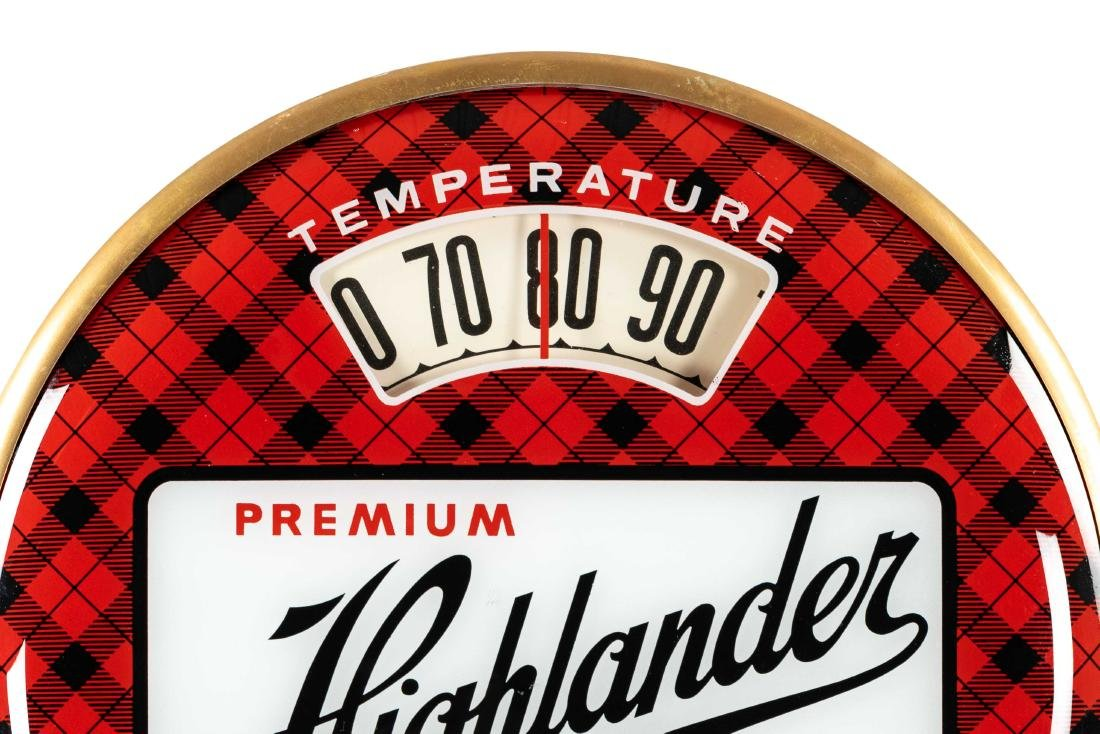 Premium Highlander Beer Bubble Thermometer - 2