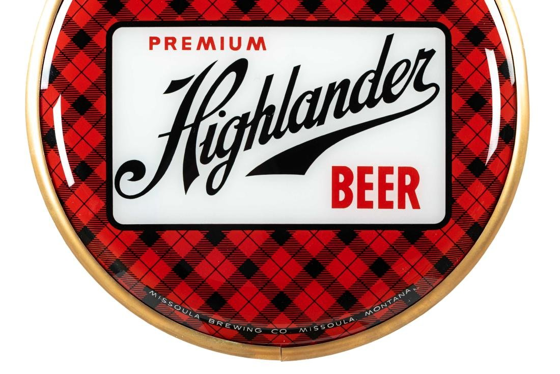 Premium Highlander Beer Bubble Thermometer - 3