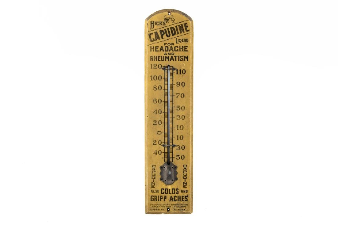 Early Hicks Capudine Liquid Thermometer