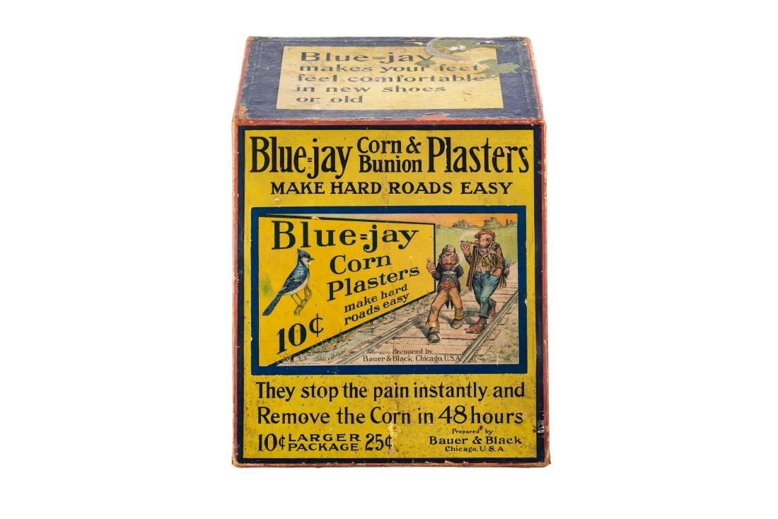 Blue Jay Corn Plasters Display