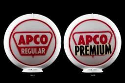 Apco Gasoline Gas Pump Globe
