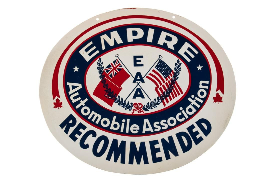 Empire Automobile Association Recommended Sign