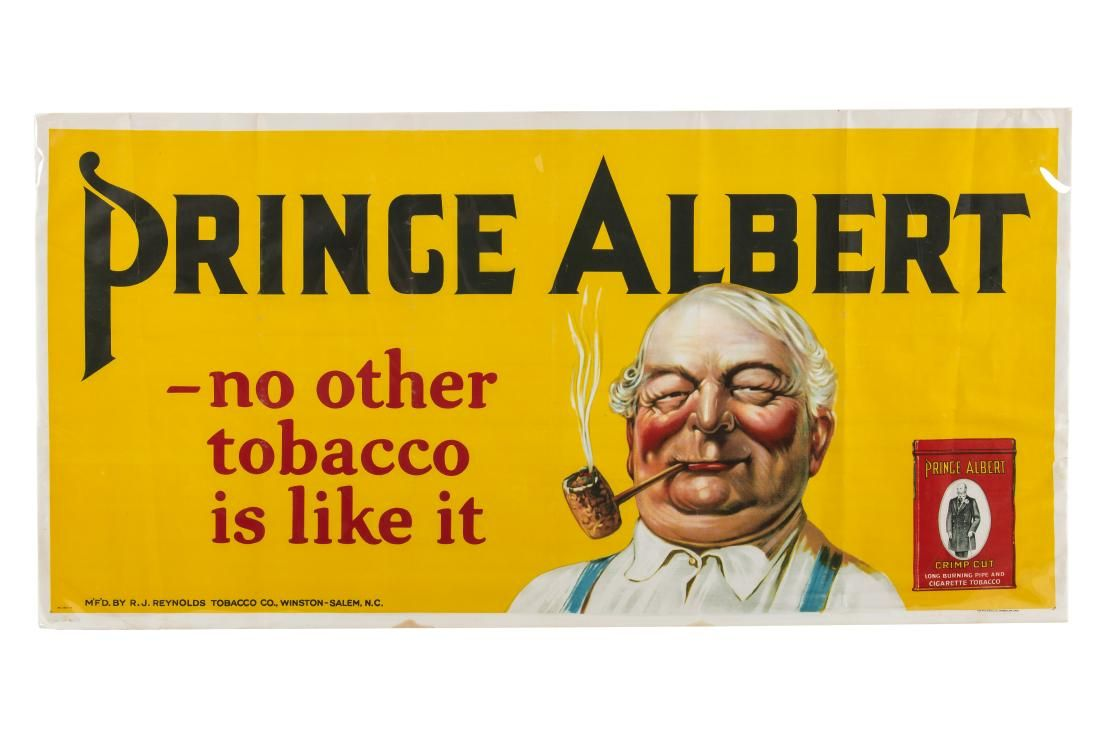 Prince Albert Tobacco Banner