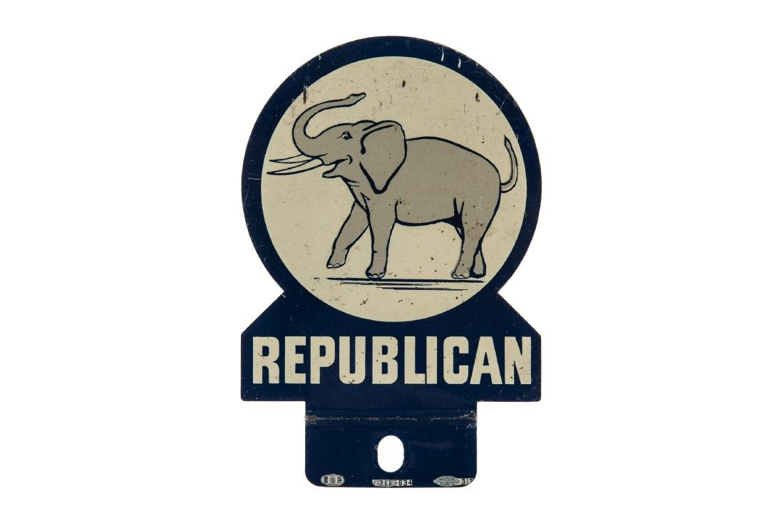 Republican Party License Plate Topper