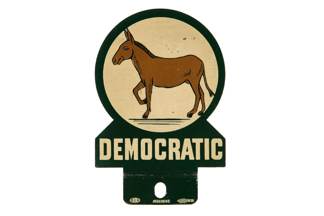 Democratic Party License Plate Topper