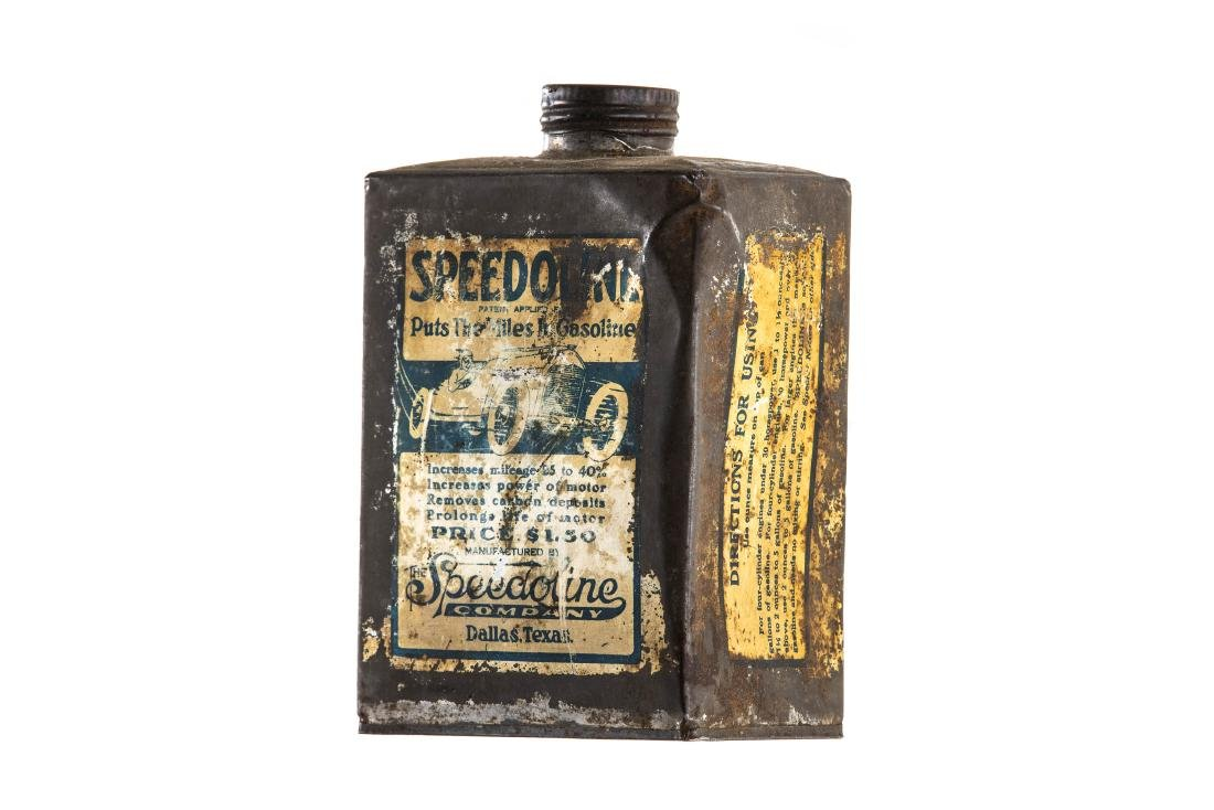 Early Speedoline Can - 2