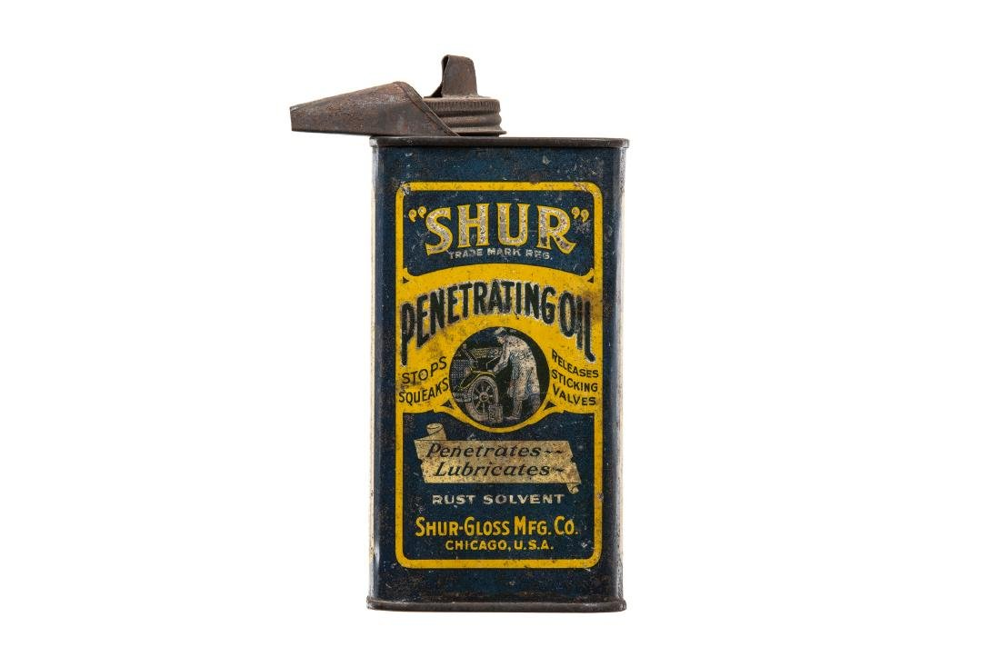 Early Shur Penetrating Oil Can