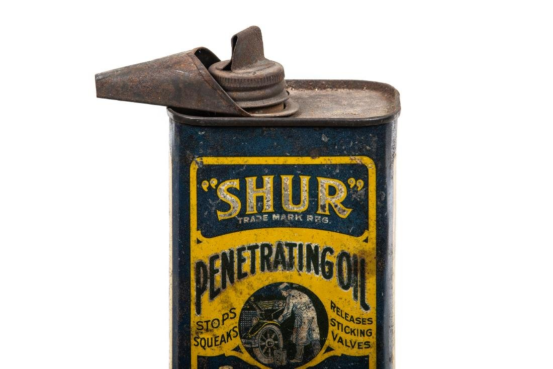 Early Shur Penetrating Oil Can - 2