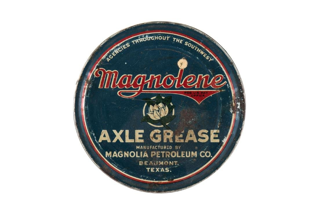 Early Magnolia Magnolene Axle Grease Can