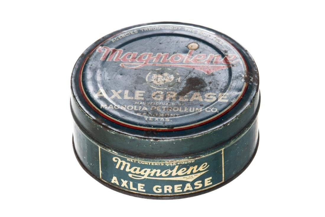 Early Magnolia Magnolene Axle Grease Can - 2
