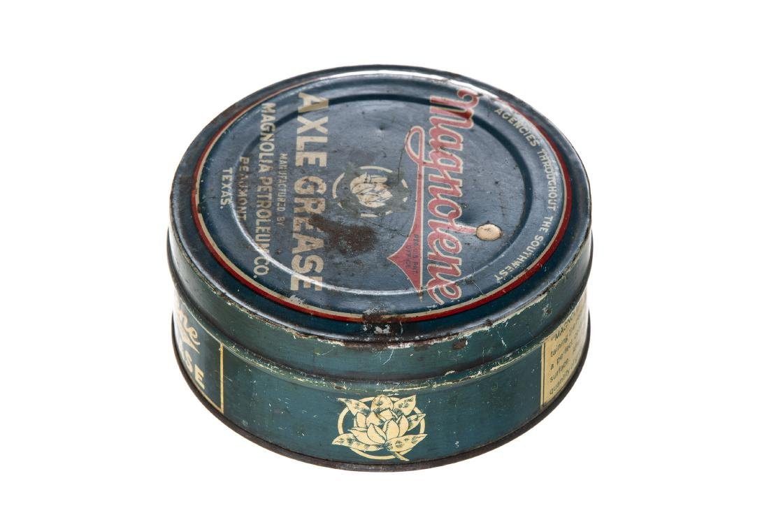 Early Magnolia Magnolene Axle Grease Can - 3
