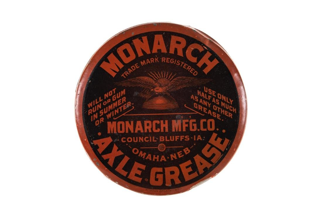 Early Monarch Axle Grease Can
