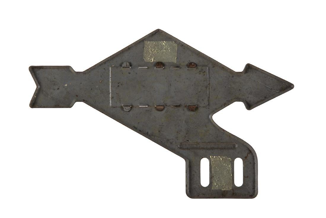 Sunoco Tin License Plate Topper - 2