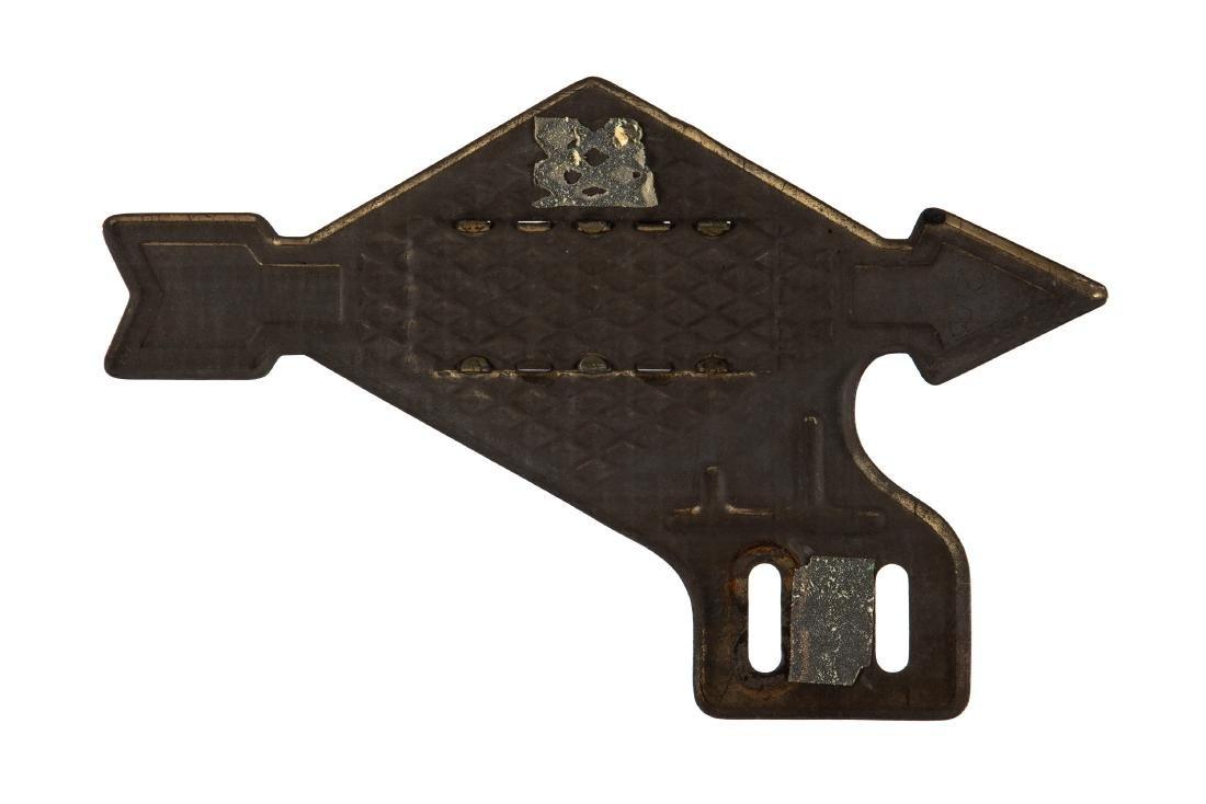 Rare Sunoco License Plate Topper - 2