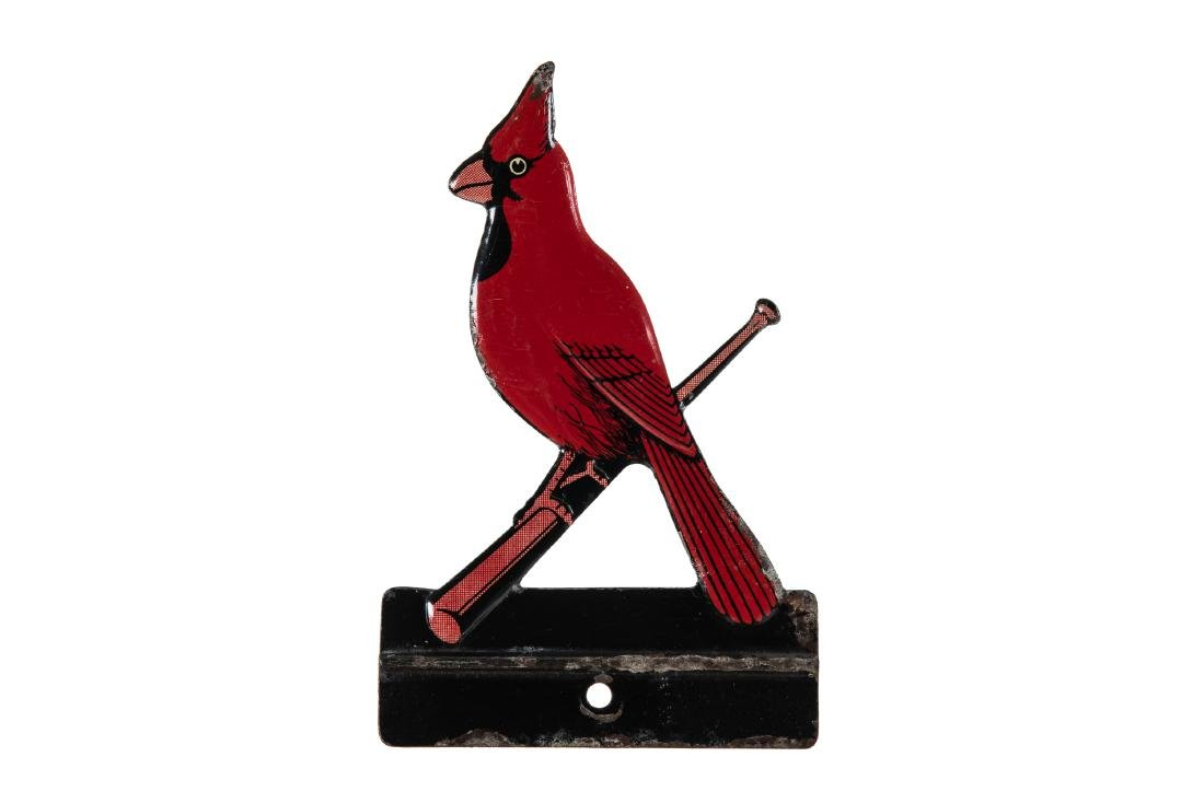 Early St. Louis Cardinals License Plate Topper