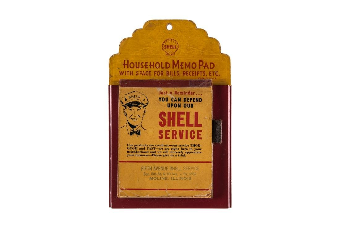 Shell Household Memo Pad