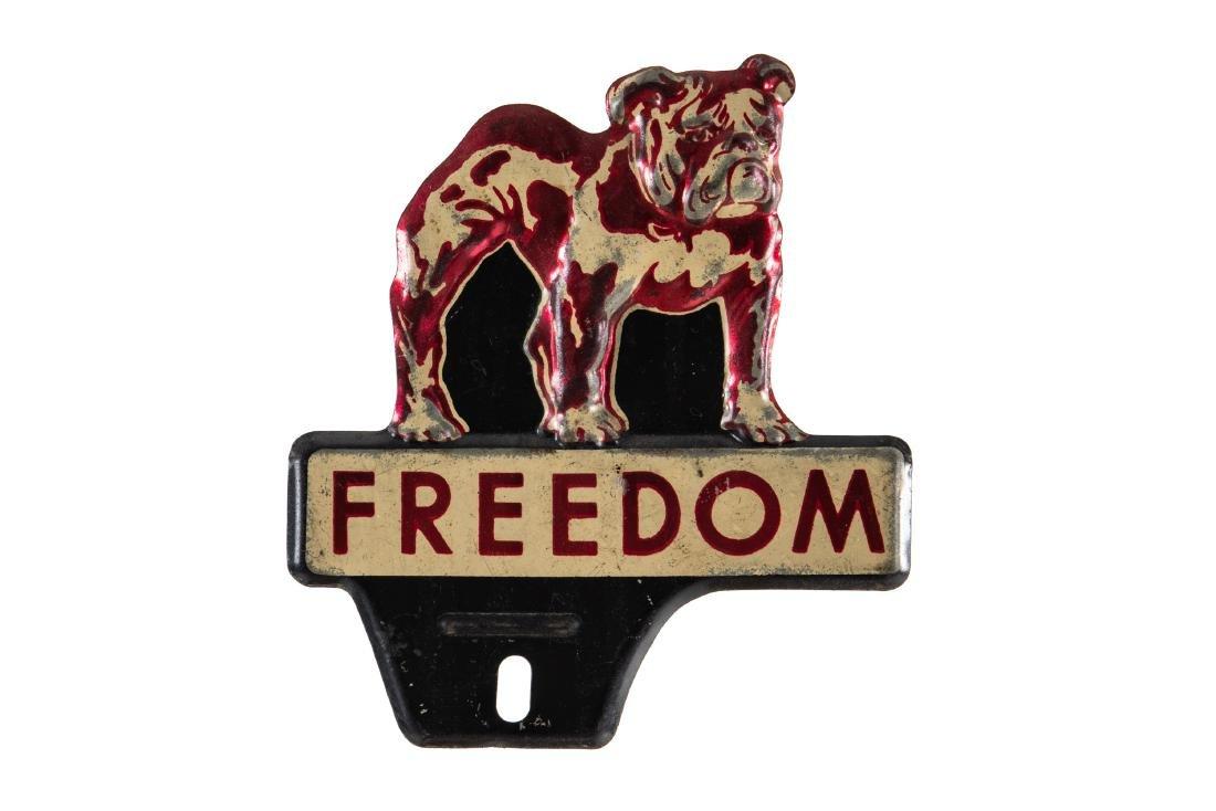 Freedom Gasoline License Plate Topper