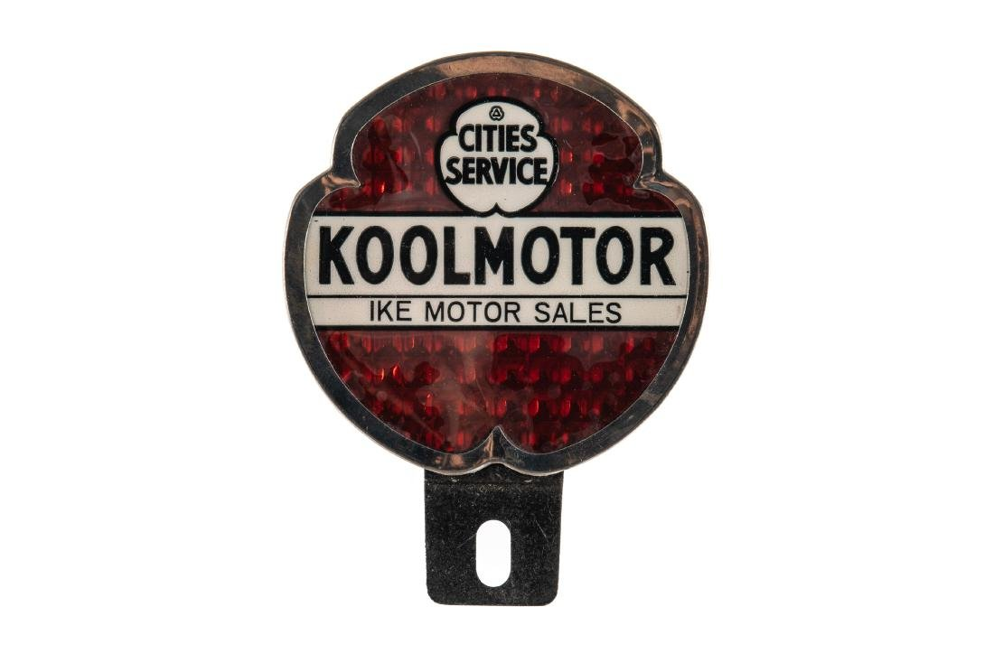 Cities Service Koolmotor License Plate Topper