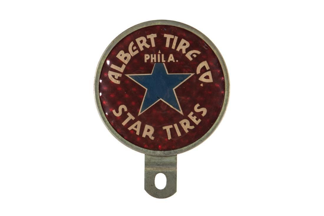 Star Tires License Plate Topper
