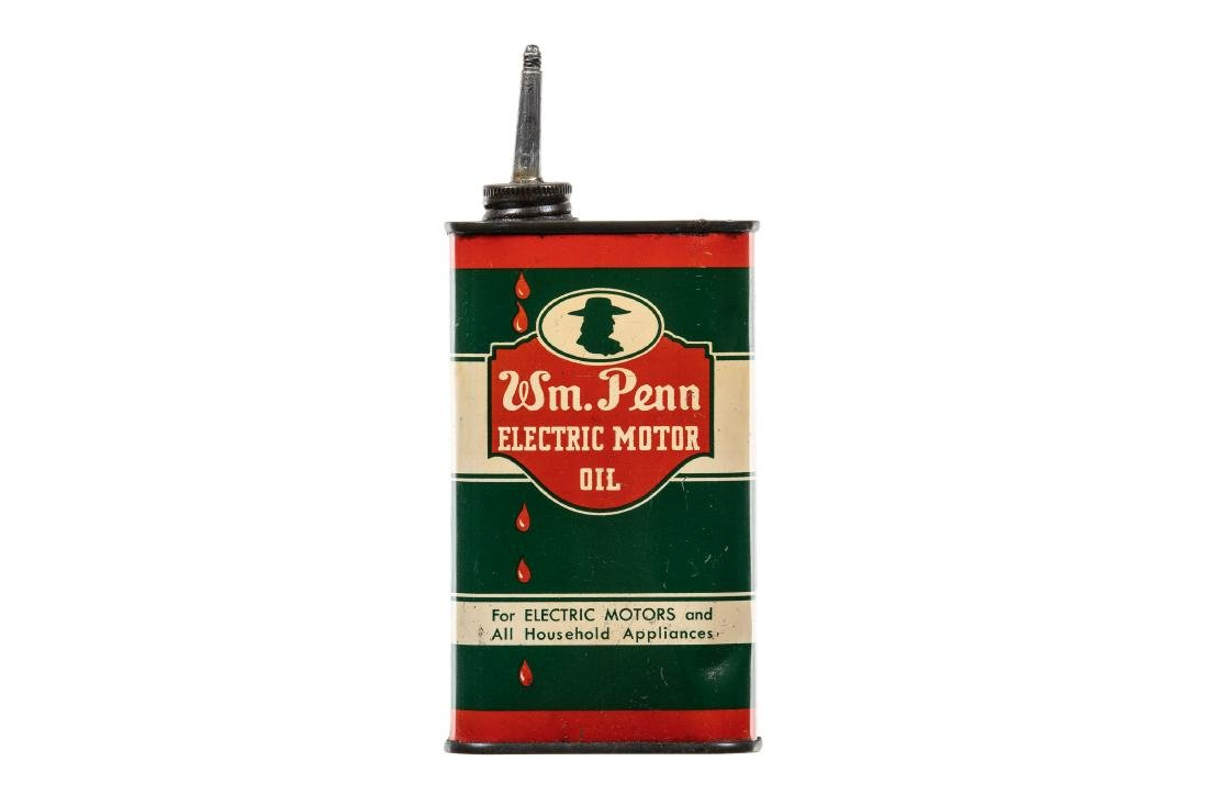 William Penn Electric Motor Oil Can