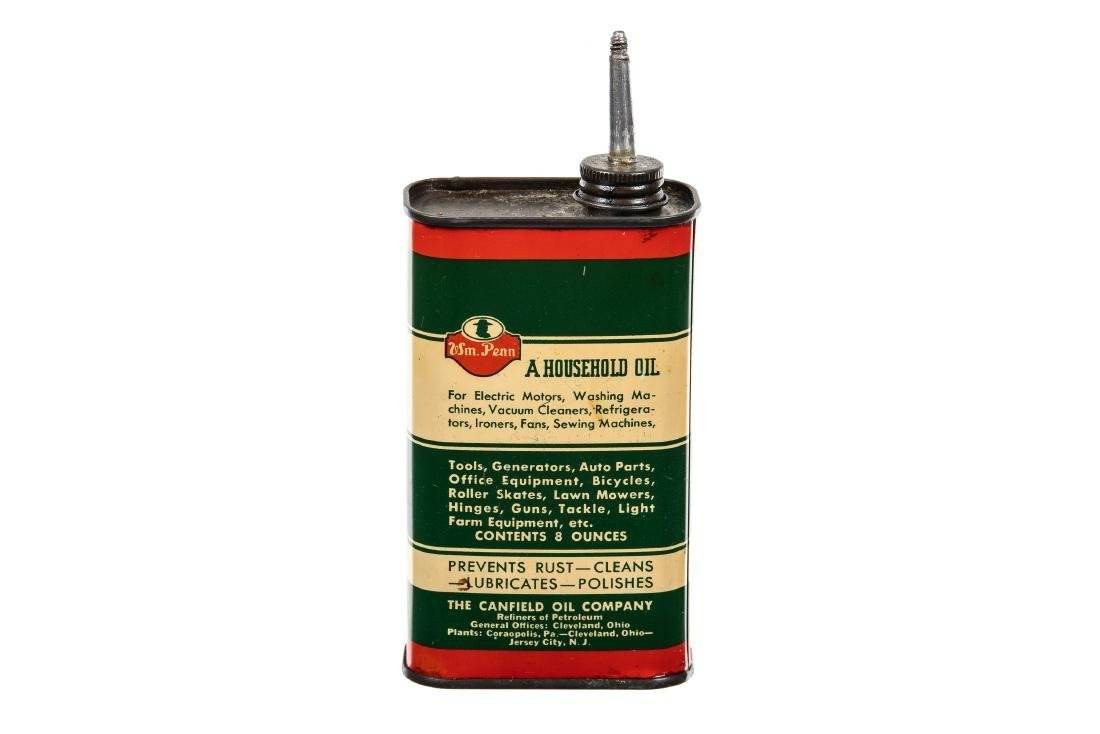 William Penn Electric Motor Oil Can - 4