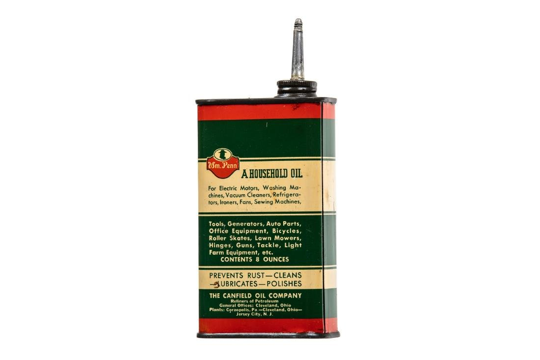 William Penn Electric Motor Oil Can - 5
