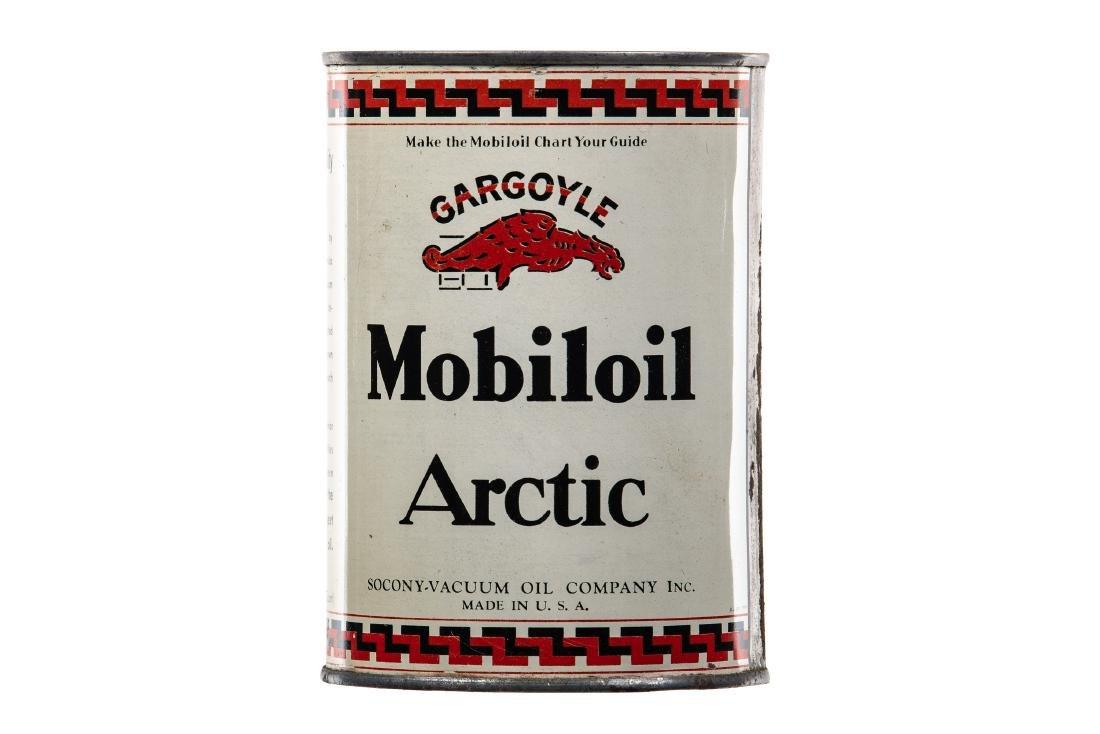 Mobiloil Artic Motor Oil Quart Can
