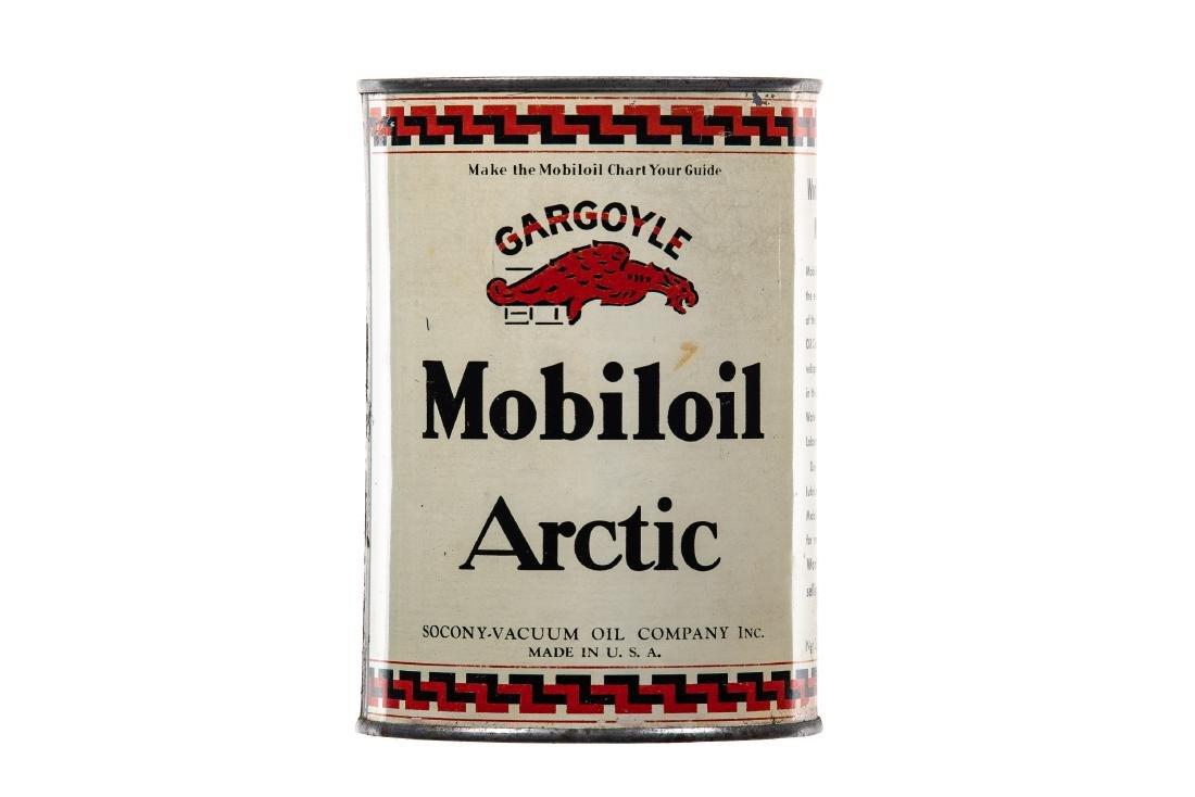 Mobiloil Artic Motor Oil Quart Can - 3