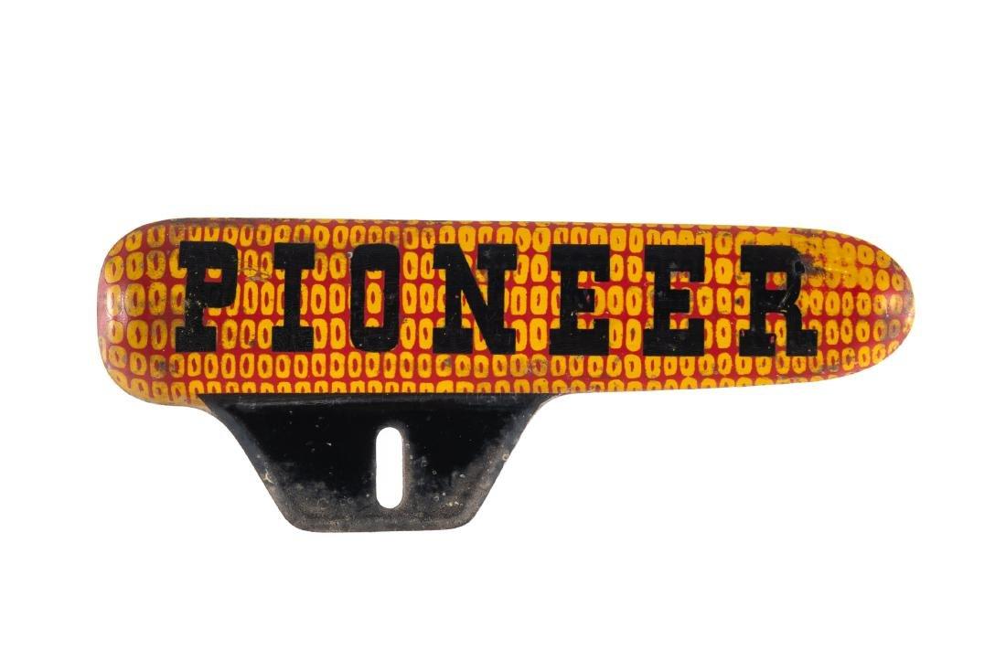 Pioneer Seed Corn License Plate Topper