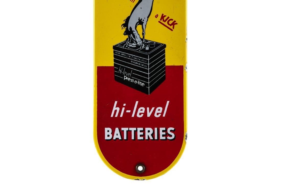 Prestolite Batteries Porcelain Palm Push - 3