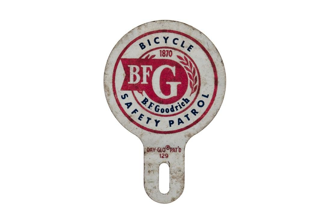 B.F. Goodrich Tires Safety License Plate Topper
