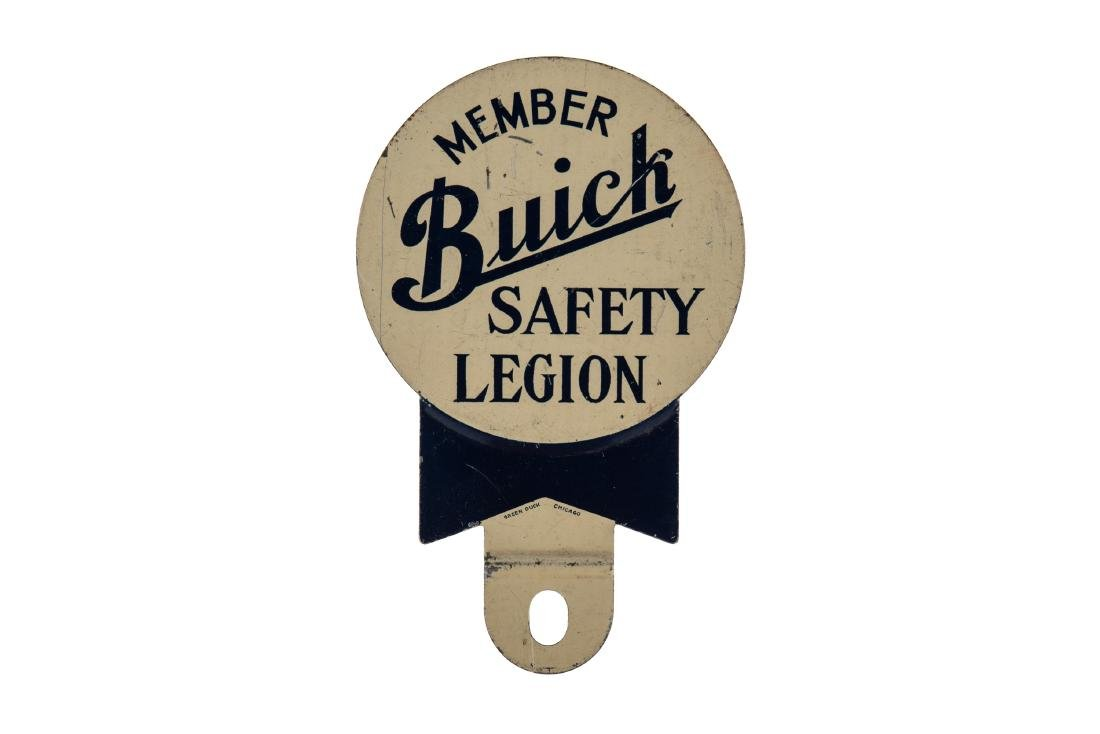 Buick Safety Legion License Plate Topper