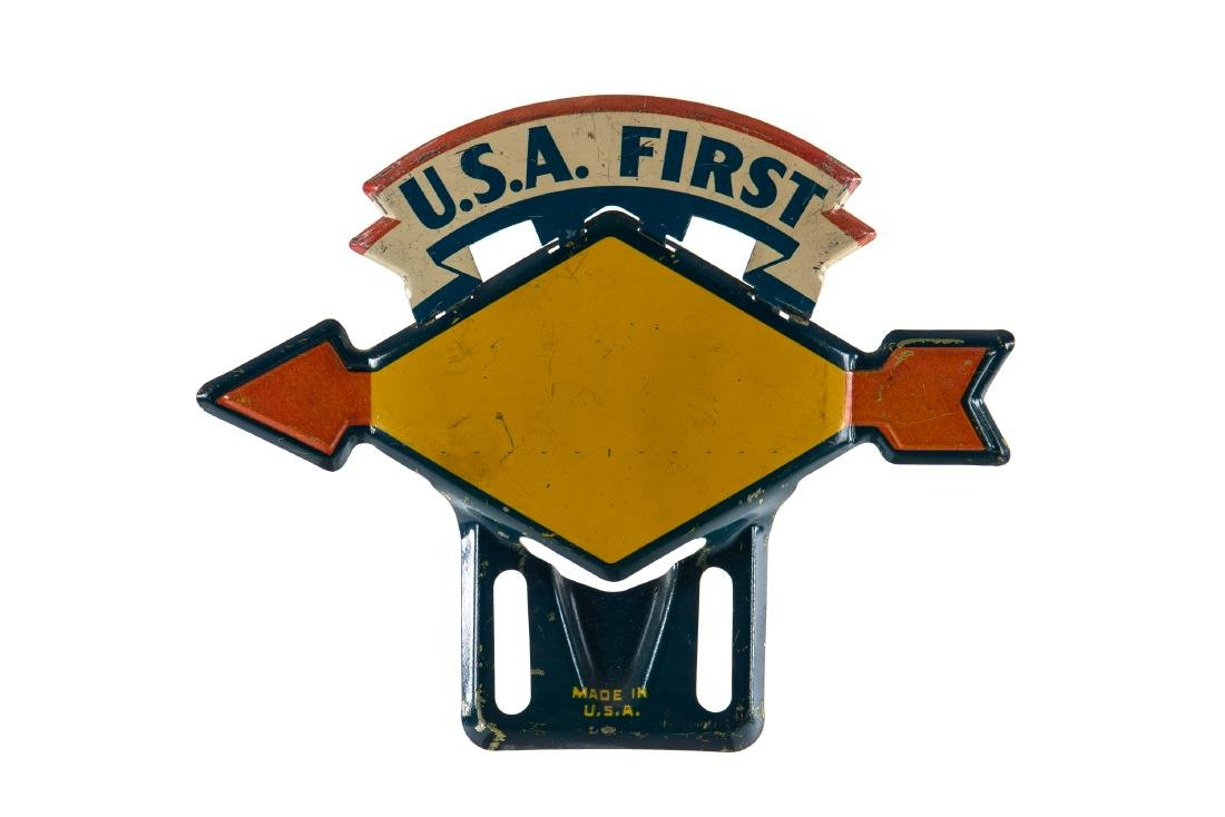 Sunoco U.S.A. First License Plate Topper