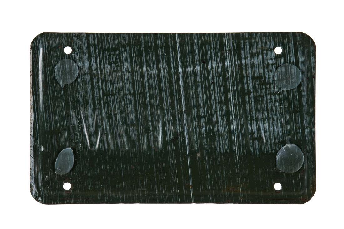Fleet Wing Gasoline Gas Pump Plate - 2
