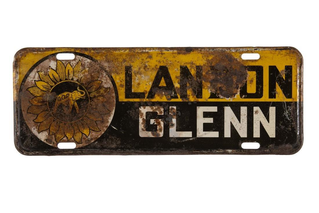 Landon Glenn License Plate