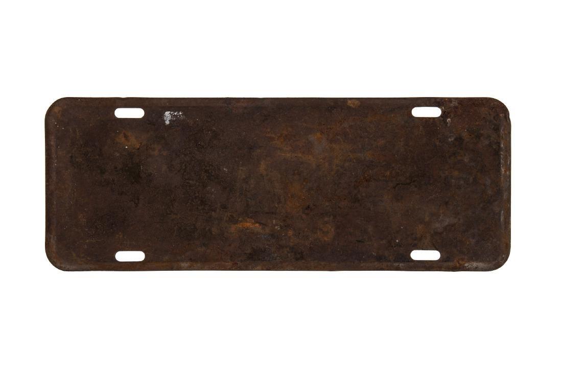 Landon Glenn License Plate - 2