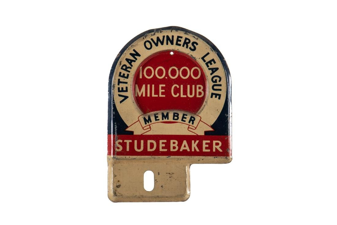 Studebaker Veteran Owners League Plate Topper