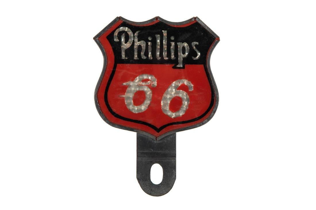 Phillips 66 License Plate Topper