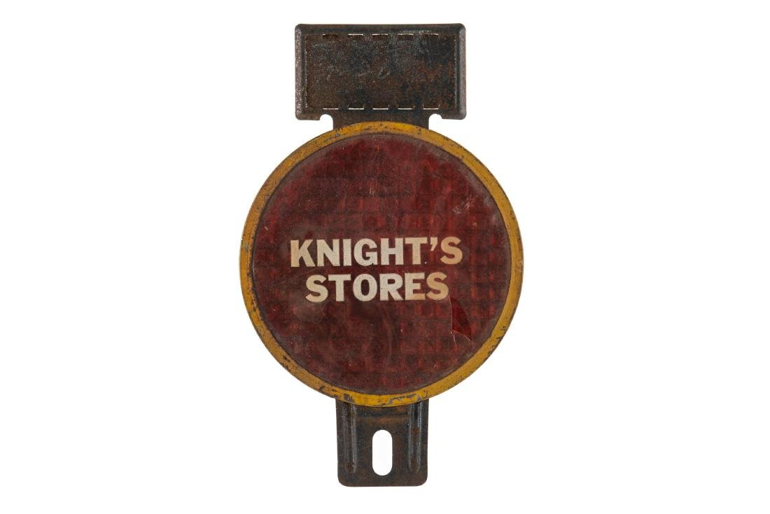 Knight's Stores License Plate Topper